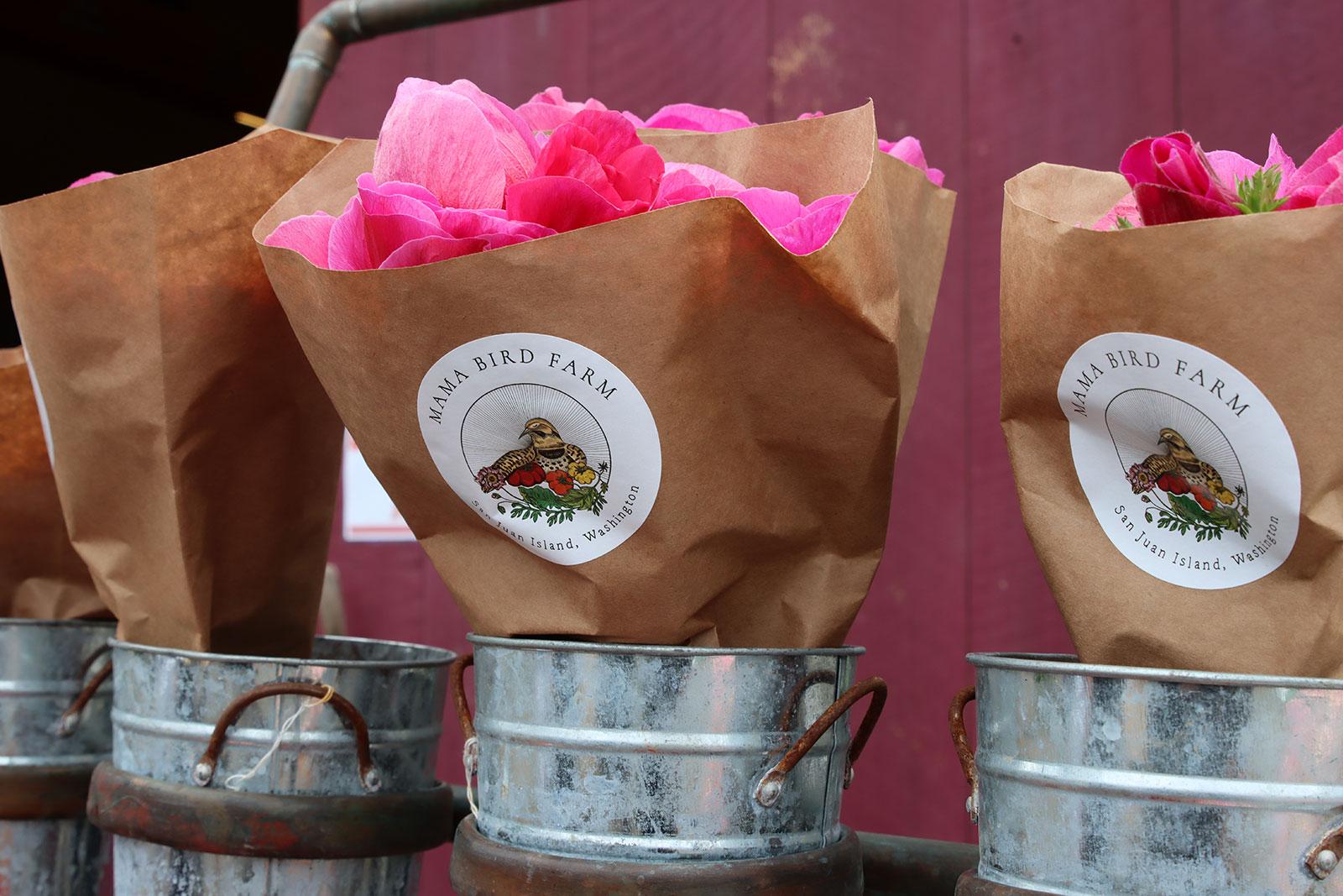 Mama Bird Farm bouquets
